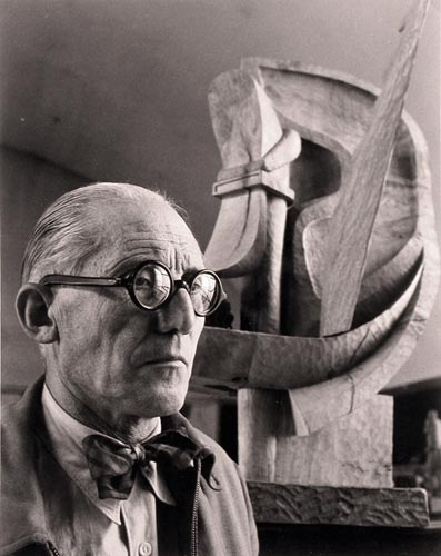 Wilhelm Maywald Portrait of Le Corbusier, 1948