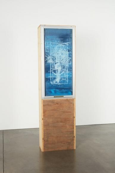 Oscar Tuazon, Library Window (LAWS), 2018