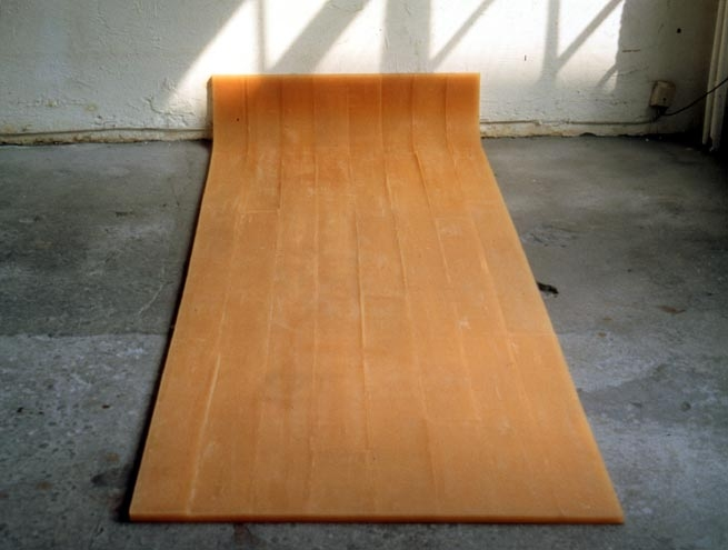 Rachel Whiteread Untitled (Amber Floor), 1993