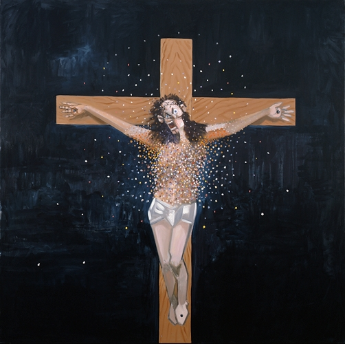 George Condo Jesus, 2007