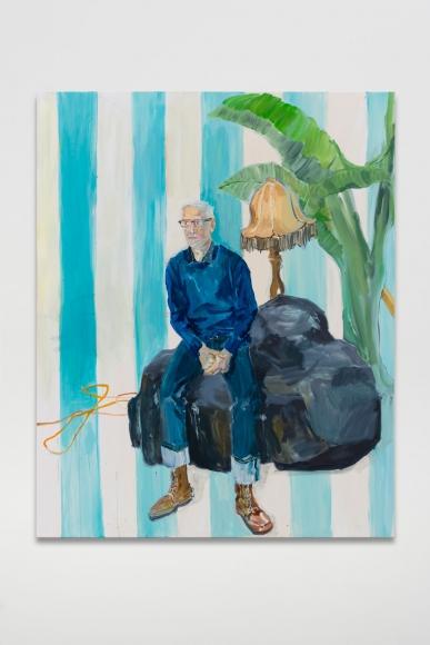 Ragnar Kjartansson, Bjarni Bömmer Poses for an Art Fair in LA, 2019