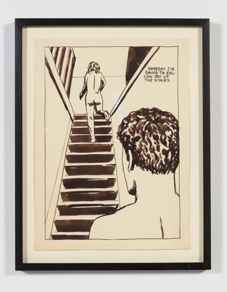 Raymond Pettibon, No Title (Someday I'm Going…), 1984
