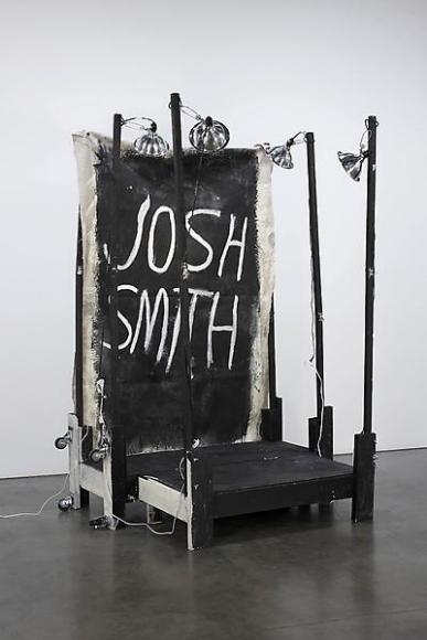 Josh Smith Stage Painting 2, 2011