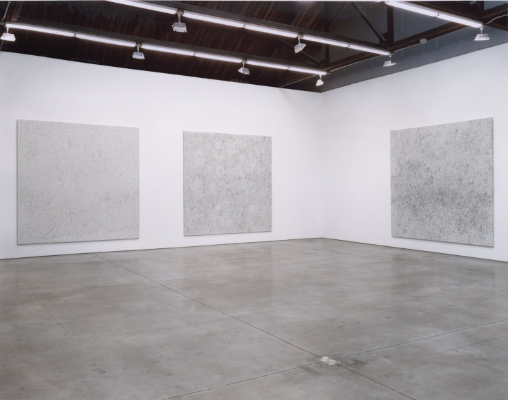 George Condo, Albert Oehlen, Gerhard Richter, Rachel Whiteread, Christopher Wool, Installation view