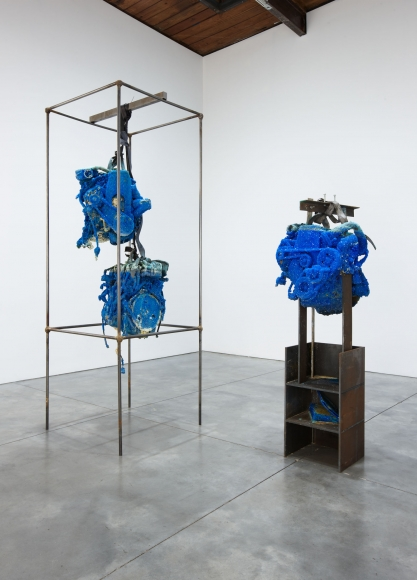 Roger Hiorns, Installation view