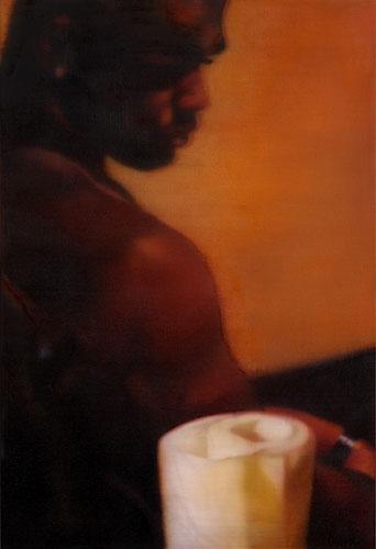 Johannes Kahrs Man sitting, 2008