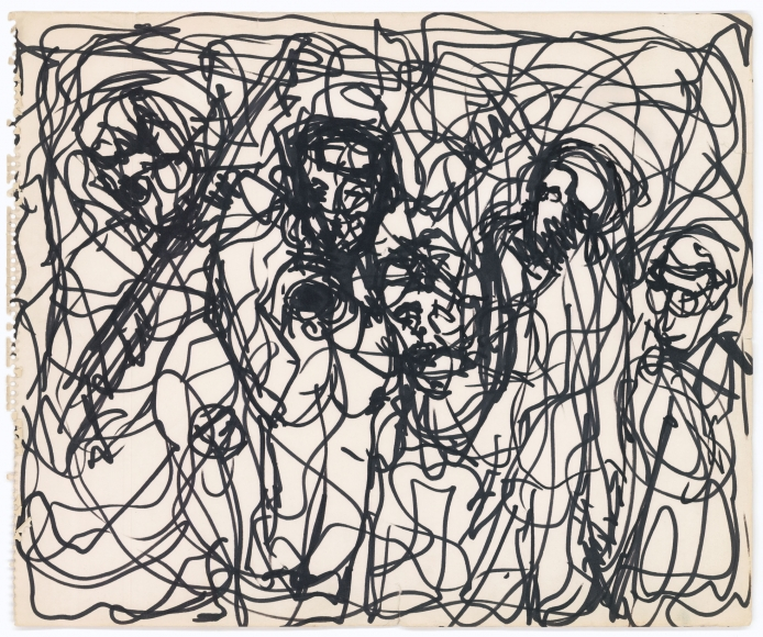Bob Thompson Untitled, 1960