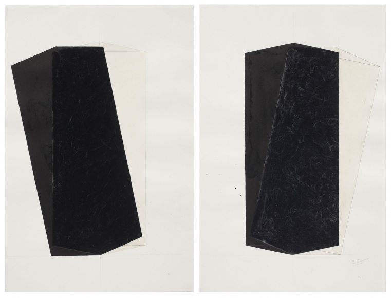 Rachel Whiteread Untitled (Left and Right), 1997-98