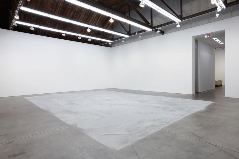 Roger Hiorns Installation view