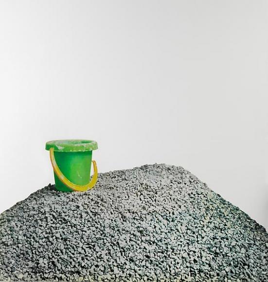 Michelangelo Pistoletto Lavoro – Ghiaia, 2008-2011