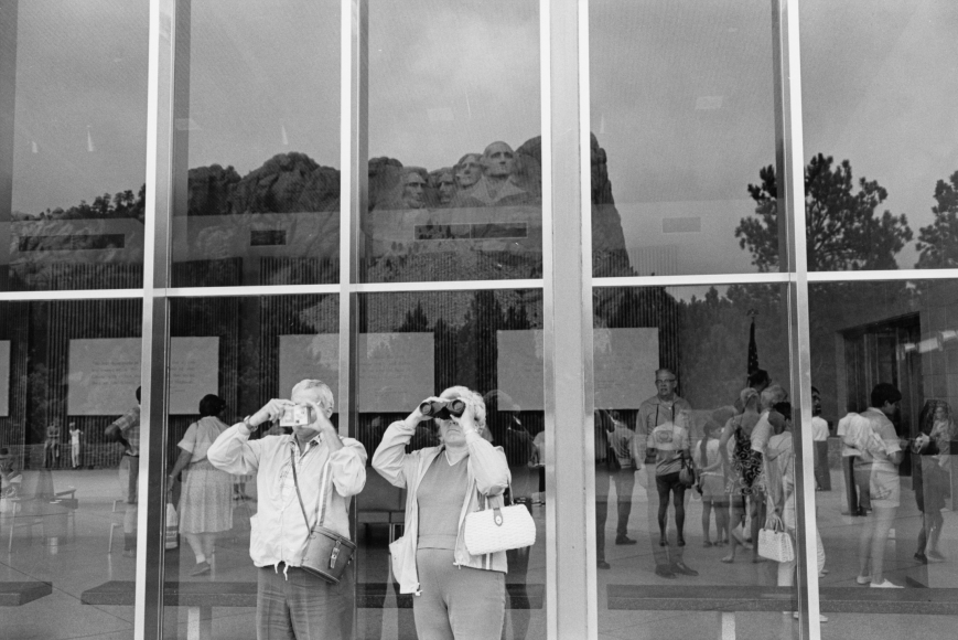 Lee Friedlander Mt. Rushmore, South Dakota, 1969