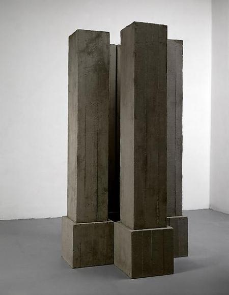 Michelangelo Pistoletto Colonne di cemento (Concrete Columns), 1965
