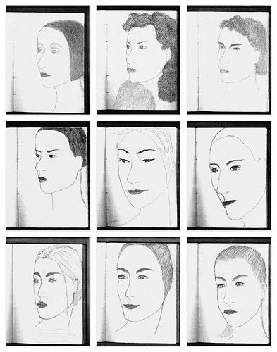 Sophie Aschauer Imaginary Portraits, 2008