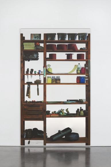 Michelangelo Pistoletto Scaffali – attrezzi da falegname, 2015