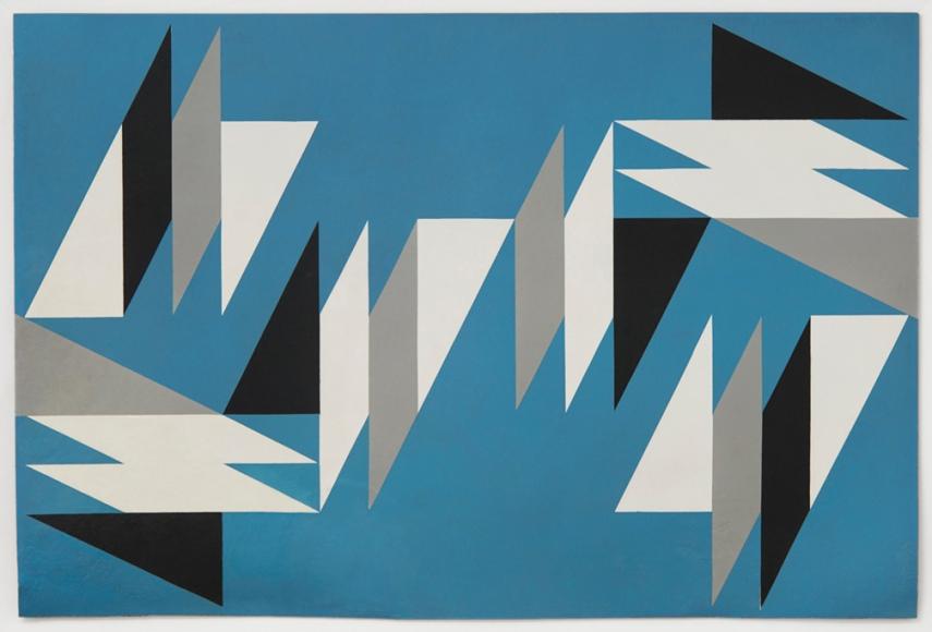 Lygia Clark Superfície modulada (Modulated surface), 1955-1957