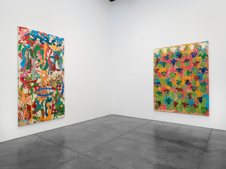 Philip Taaffe, Installation view