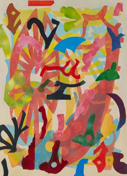 Philip Taaffe Averroes, 2016