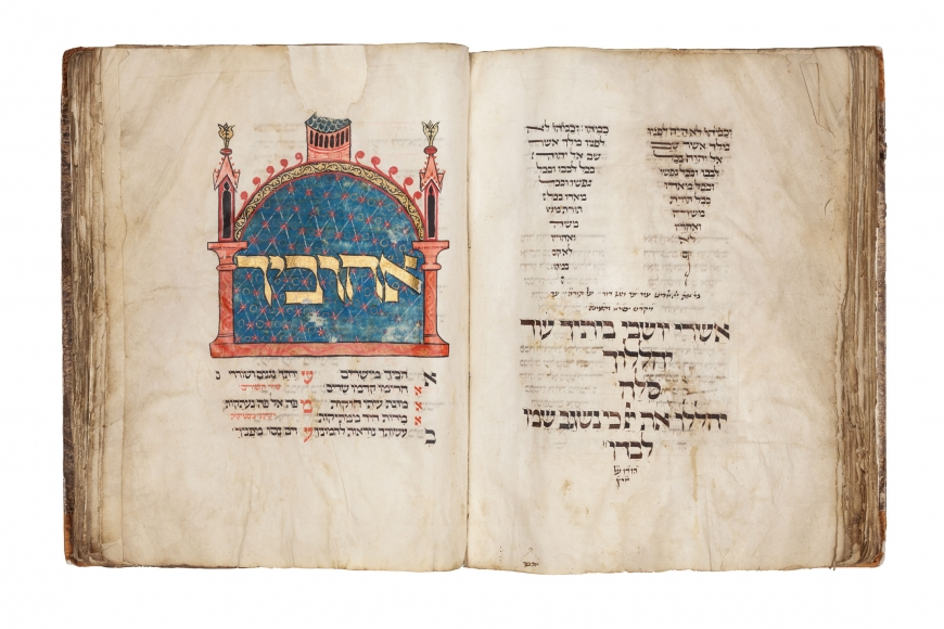 The Montefiore Mainz Mahzor, Mahzor for special Shabbot, Passover, and Shavuot according to the Rie of Mainz