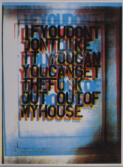 Christopher Wool My House II, 2000