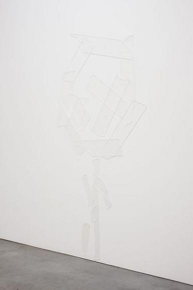 David Musgrave Tape skeleton, 2012