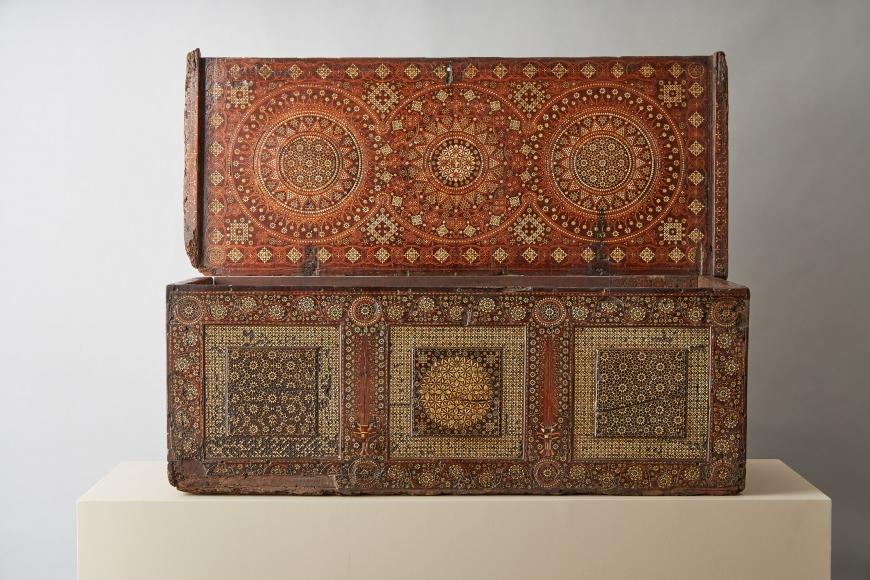 A large cassone, c. 1500