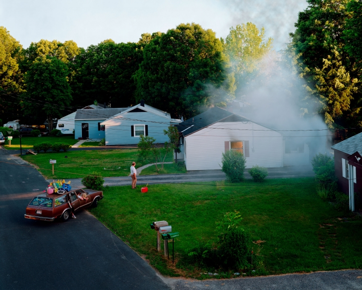 Gregory Crewdson Untitled (house fire), 1999