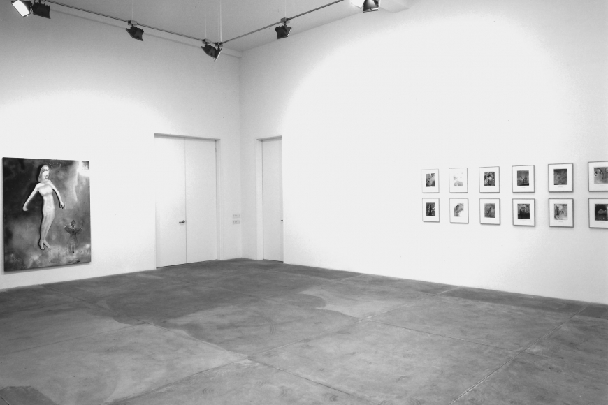 Michael Byron, Installation view
