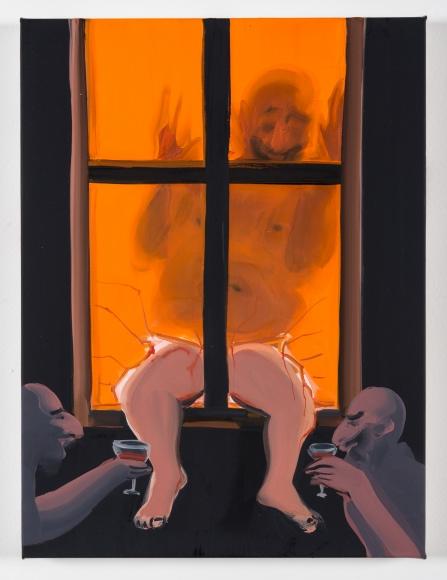 Tala Madani, Stained Glass, 2014