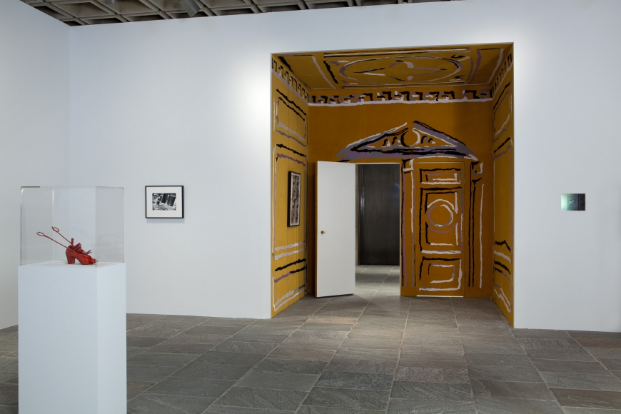 Nick Mauss, Concern, crush, desire, 2011, Installation view: Whitney Biennial, 2012