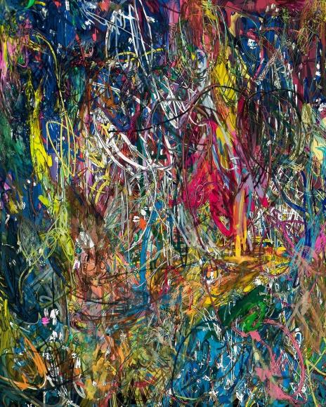 Florian Maier-Aichen, Untitled (Lasso Painting #1), 2016
