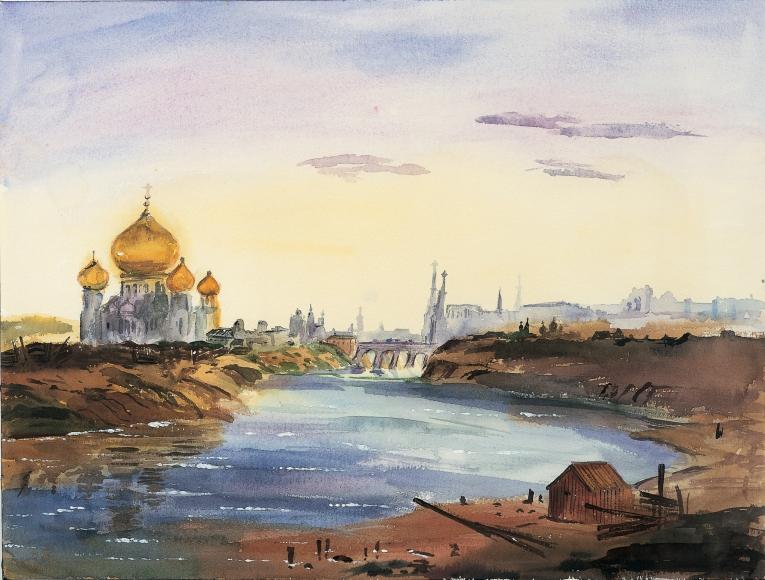 Karen Kilimnik, Moscow, 1999