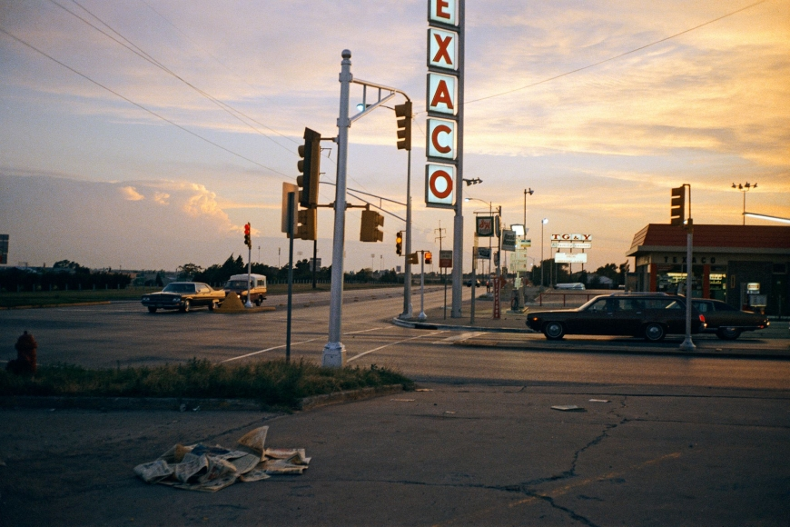 Stephen Shore, Oklahoma City, Oklahoma, July 1972