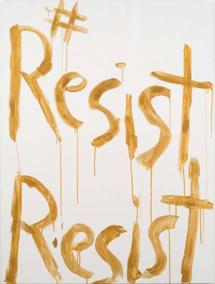 Kim Gordon, #ResistResist, 2017