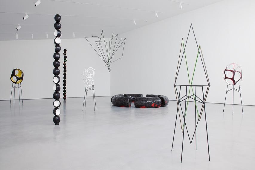 Eva Rothschild, Installation view: Hot Touch, The Hepworth Wakefield, 2011