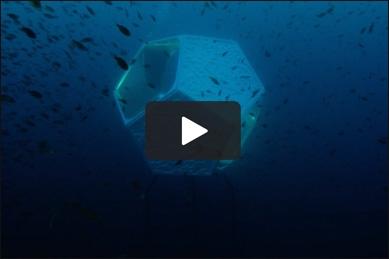 Doug Aitken, Underwater Pavilions (linear), 2016