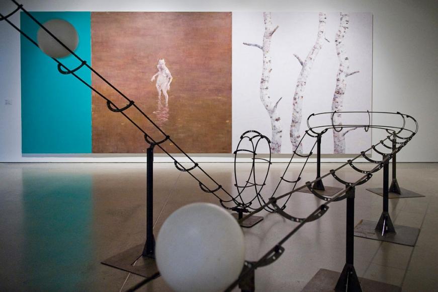 Jeppe Hein, Sense City, Installation at ARoS Kunstmuseum, 2009