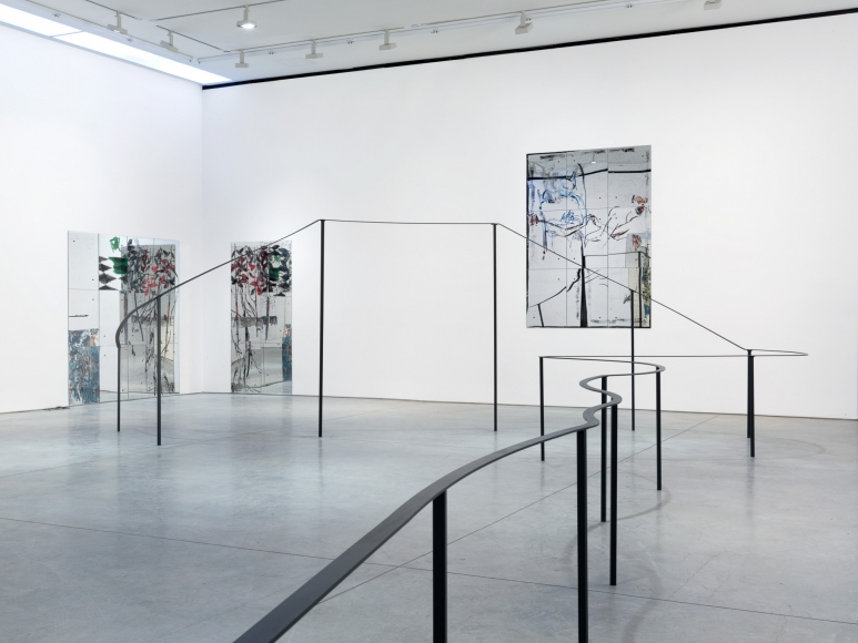 Nick Mauss, Installation at 303 Gallery, New York, 2015