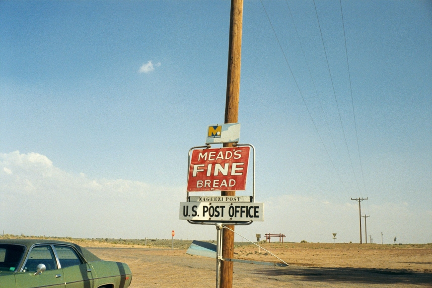 Stephen Shore, Pueblo Bonito, New Mexico, June 1972