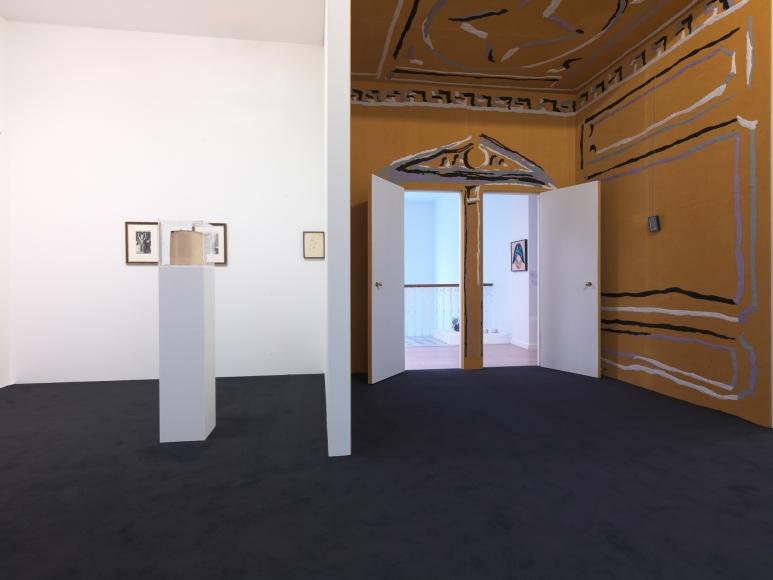 Nick Mauss, Installation view: Portraits d' Intérieurs, Nouveau Musée National de Monaco, 2014