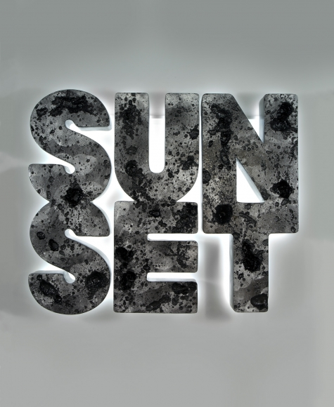 Doug Aitken, Sunset (black), 2013