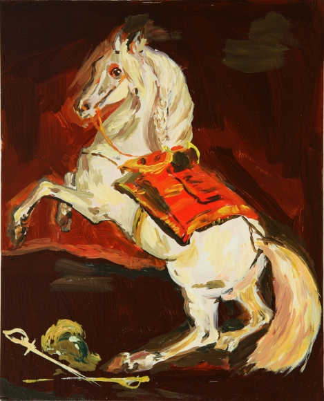 Karen Kilimnik, the splendid Lippazanner at the battle of austerlitz, 2006