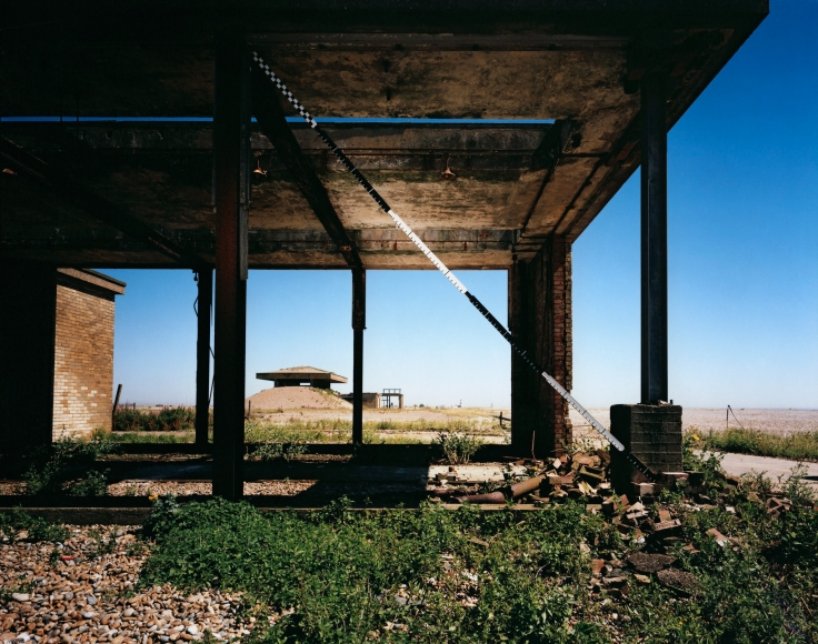 Jane and Louise Wilson, Blind Landing, H-bomb Test Facility, Orford Ness, Suffolk, UK, Lab Five, 2013