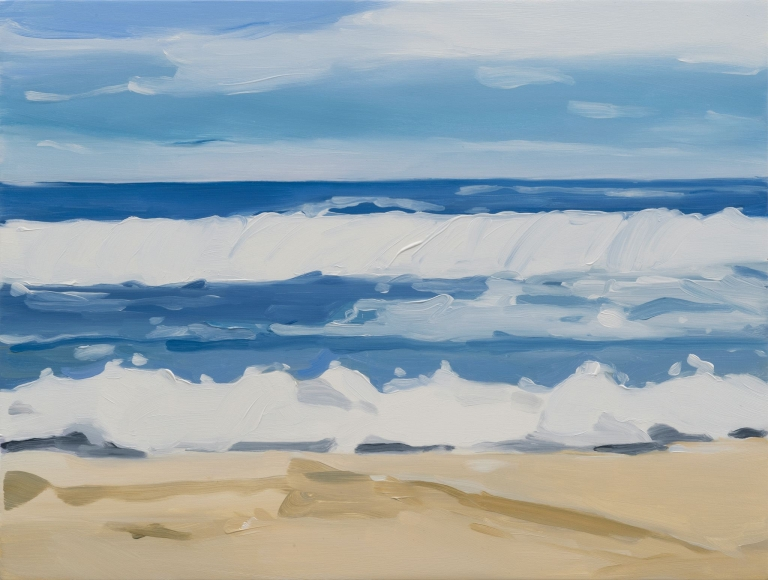 Maureen Gallace, Cloud on a Beach, 2015