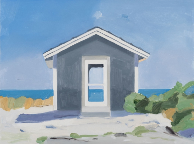 Maureen Gallace, Beach Shack, Door August 14th, 2015