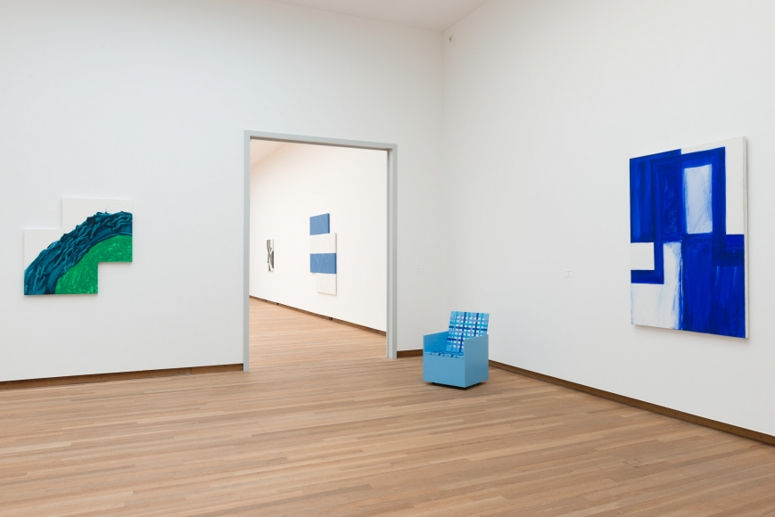 Mary Heilmann, Installation view: Good Vibrations Bonnefantenmuseum, Maastrich, 2012