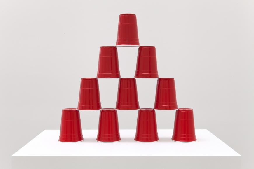 Matt Johnson, Party Cup Pyramid, 2014