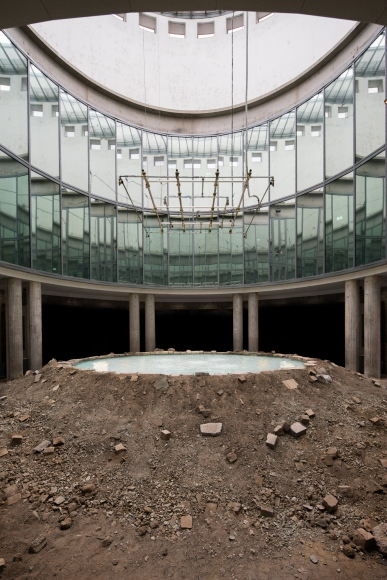 Doug Aitken, Sonic Fountain II, 2013/2015,  Installation view Schirn Kunsthalle Frankfurt, 2015