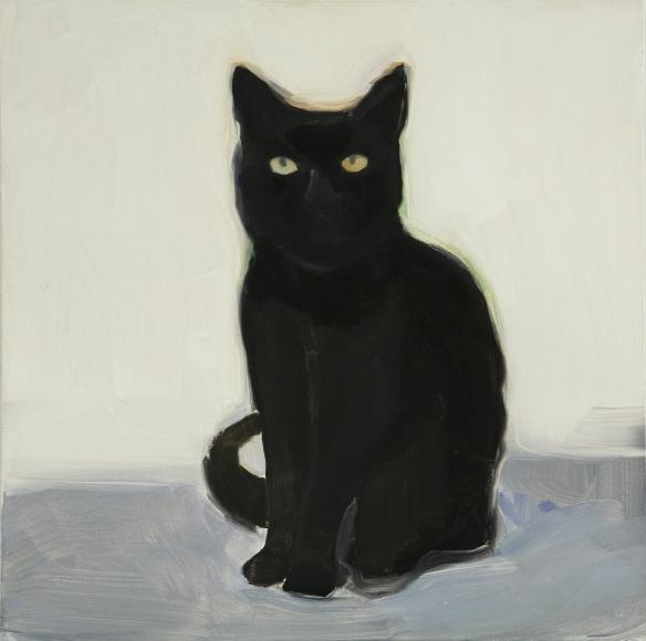 Maureen Gallace, Desert Cat, Marfa, TX (Mills), 2006