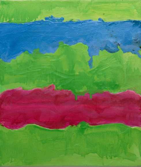 Mary Heilmann, Sunset Rip, 2008