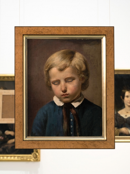 Hans-Peter Feldmann, Boy with closed eyes